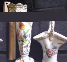 Paris Royal Vases (b5) 2 Pieces