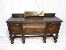 Jacobean Revival Mixed Wood Sideboard