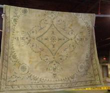 Square Italian Wool Carpet 8x8