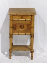 Smaller Bamboo End Table