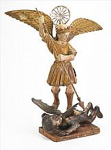 St Migel and Dragon