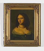 Portrait of Lady on Copper