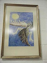 Painting of Icarus