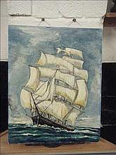 Oil on board ship