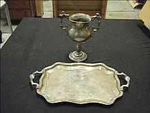 2 Items of plated ware