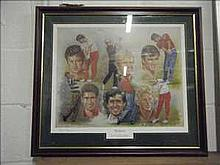 The Masters limited edition print number 43 of 500