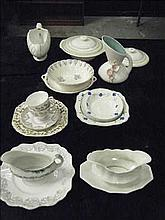 Collection of vintage pottery and china