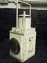 Vintage railway parrafin lamp