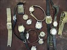 Collection of non-working vintage ladies watches