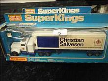 Matchbox Superkings K-31 Peterbilt Fridge Truck