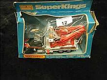 Matchbox Superkings K-20 Peterbilt Wreck Truck