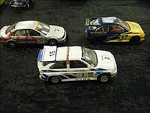3 Hornby track cars