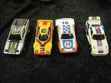 4 TCR track cars