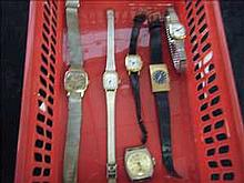 Collection of 6 working vintage ladies watches