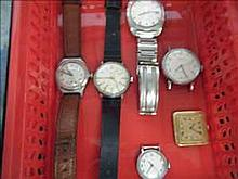Collection of 6 working vintage watches inc.