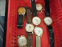 Collection of 7 working vintage watches inc.
