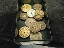 Collection of 10 non-working vintage watch