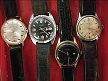 Collection of 4 working vintage watches inc.