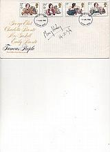 Mary Wesley Signed Famous People FDC Signed. Good Condition.