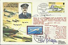 Pierre Clostermann Multisigned, HA31 Leigh-Mallory Historic Aviator cover,