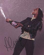 Alexandra Burke Music signed genuine original AUTHENTIC autograph photo, A
