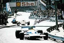 Henri Pescarolo F1 Matra genuine authentic autograph signed photo, A 20cm x