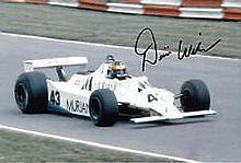 Desire Wilson F1 Williams genuine authentic autograph signed photo, A 20cm