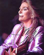 Judy Collins Music authentic signed autographs photo, A 10 x 8 inch image c