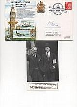 Baron Home, Better known to us as Sir Alec Douglas Home PM, Signed Britain