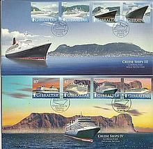 Gibraltar collection. Consisting of modern immaculate stamps, FDCs. Maritim