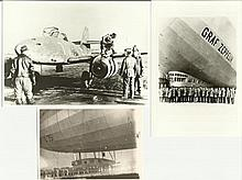 Graf Zeppelin Assorted photo collection. Mainly b/w or sepia