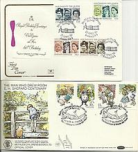 GB FDC assorted collection. Including 1967 EFTA FDC, 1964 international Bot