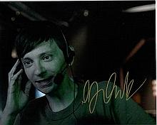 DJ Qualls 10x8 photo of Dj from Z Nation, signed by him at Tv Upfronts week