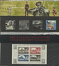 GB Presentation packs Collection of 15 immaculate stamp Presentation packs.