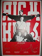 Rich Kids limited edition fully signed poster. Stunning limited edition Mus