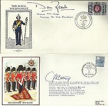 Royal Engineers signed Collection of 10+ covers mainly celebrating the 200t