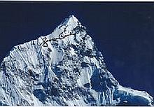 Everest George Band genuine signed authentic autograph photo. A 12 x 8 colo