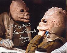 Star Wars Laurie Goode genuine signed authentic autograph photo, A rare 20c