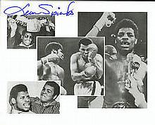 Leon Spinks Boxing genuine signed authentic autographs, A 10 x 8 inch image