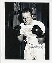 Henry Cooper Boxing genuine signed authentic autograph photo, An 10 x 8 pho