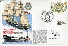 Royal Navy - Royal Navy series cover RNSC(3)5 120th anniversary of the laun