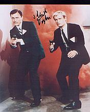 Man From Uncle Robert Vaughn signed 10x8 picture from The Man From Uncle si