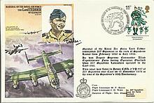 HA12 Marshal of the Royal Air Force The Lord Tedder Historic Aviator cover.