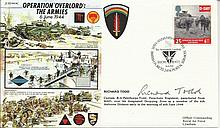 Richard Todd signed Operation Overlord FDC. Good condition