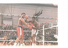Ron Lyle autographed high quality 16x12 inches colour photograph. Nice shot