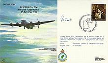 Grp Capt James Tait DSO DFC 25 Oct 83 Jersey 44th Anniversary of the First