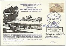 Sir Roden Cutler VC signed Official Marriott Navy cover Comm. Victoria Cros