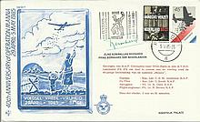 Prince Bernhard of Netherlands 1985 40th Anniversary of Operation Manna RAF