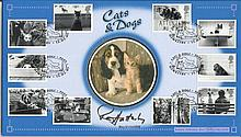 Roy Hattersley MP signed Benham Cats & Dogs first day cover. Good condition