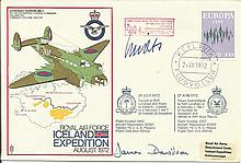 Wolfgang Spate Luftwaffe ace signed 1972 Locheed Hudson Cover. Good conditi